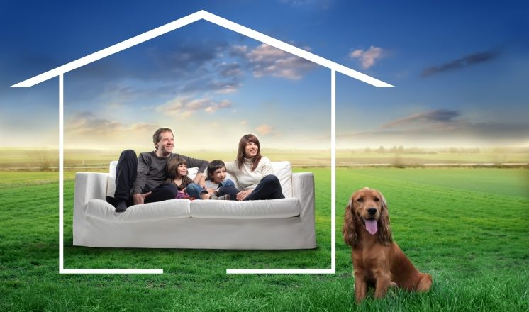 Image of a family dreaming about Buying a Home in St. Louis